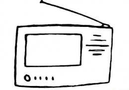 QQ画图红包收音机画法教程