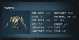 明日之后丛林铁甲制作配方一览