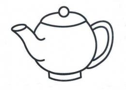 QQ画图红包茶壶画法教程