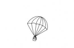 QQ画图红包降落伞画法教程