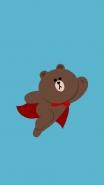 布朗熊手机锁屏壁纸大全 可爱卡通布朗熊锁屏壁纸