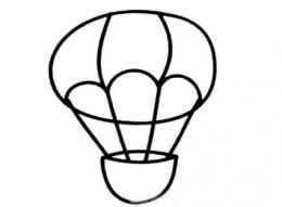 QQ画图红包热气球画法教程