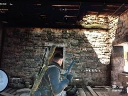 《狙击精英4》第二关主要目标HQ位置介绍