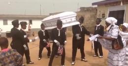 抖音黑人抬棺材跳舞视频完整版