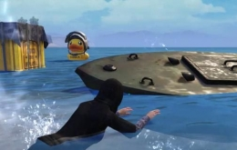 《和平精英》小黄鸭空投位置介绍