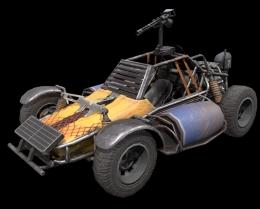 《和平精英》武装buggy强度测评