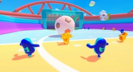 《糖豆人:终极淘汰赛》激情足球(完整版)关卡通关攻略