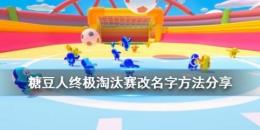 《糖豆人:终极淘汰赛》改名方法攻略