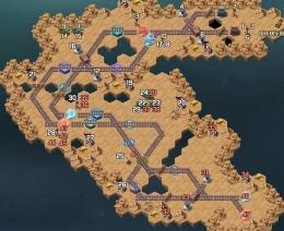 剑与远征扬沙戈壁路线走法攻略