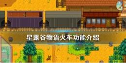 星露谷物语1.5火车功能作用一览