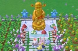 摩尔庄园手游金色财神雕像获取攻略