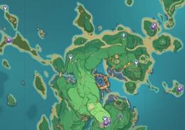 《原神》紫金块位置坐标一览
