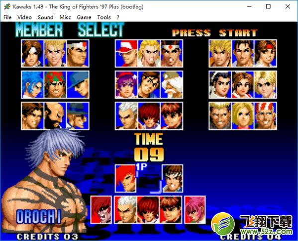 拳皇97无限能量免安装中文版_52z.com