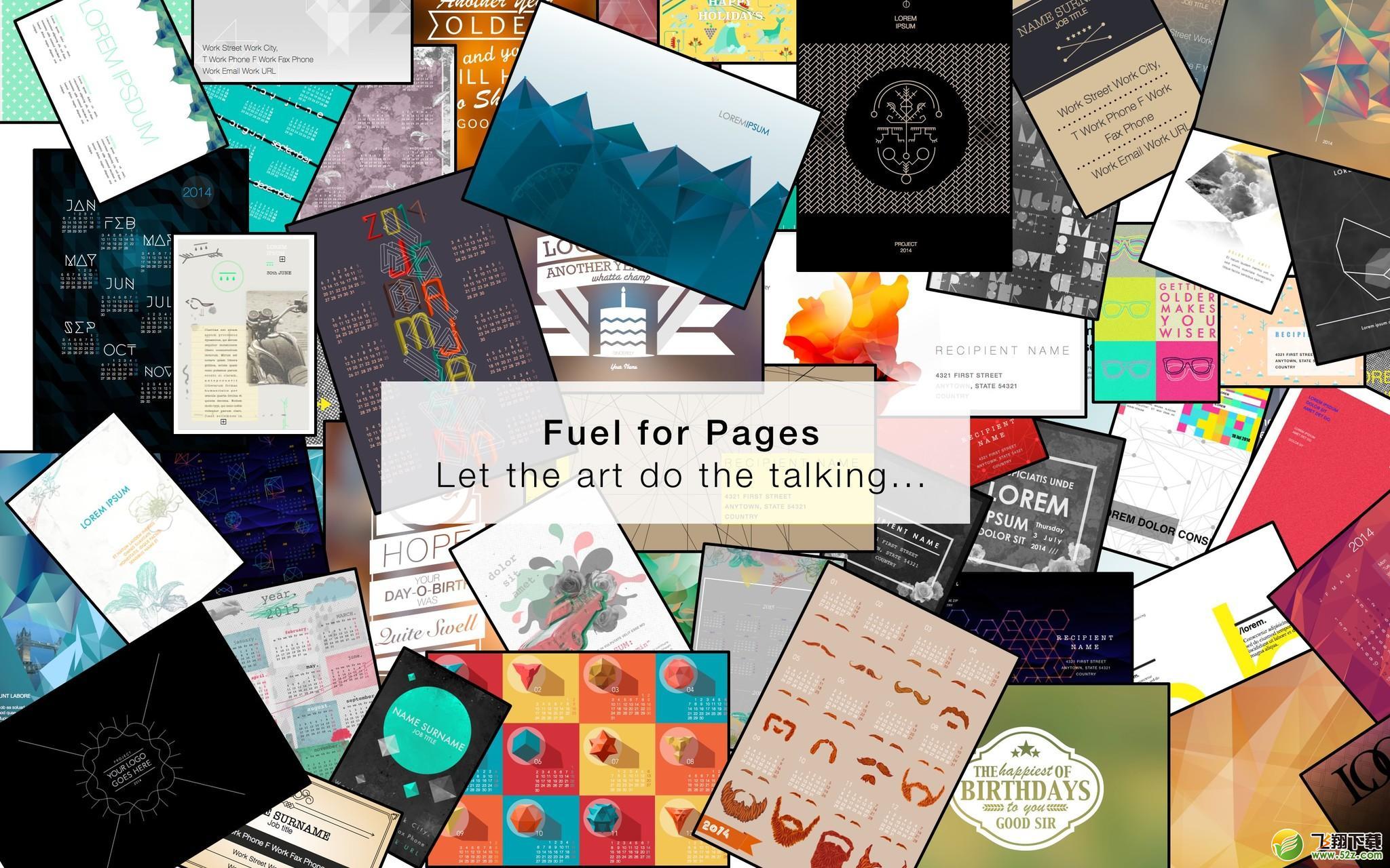 Fuel for Pages Mac版V1.3.1 官方版_52z.com