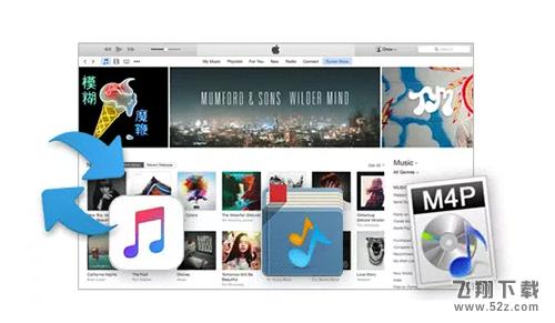 iTunes DRM Audio Converter Mac版V2.0.2 官方版_52z.com