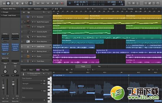 Logic Pro X for macV10.3 官方版_52z.com