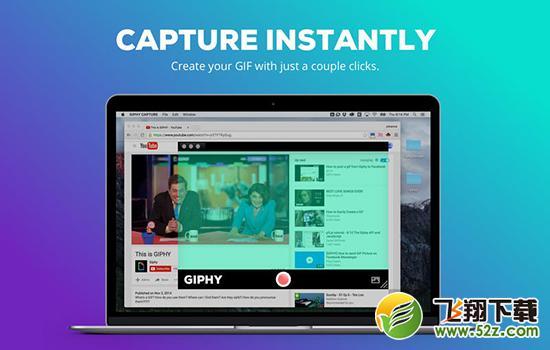 GIPHY CAPTURE Mac版V2.4 官方版_52z.com
