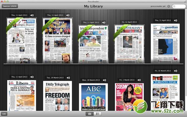 PressReader for macV6.2 官方版_52z.com