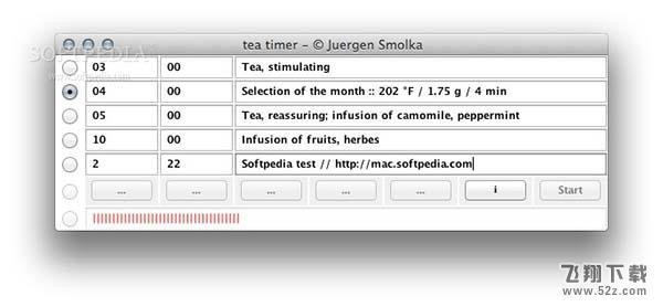 Tea Timer NG Mac版V4.1.54b 官方版_52z.com