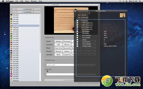 EeTagger Mac版V2.2 官方版_52z.com