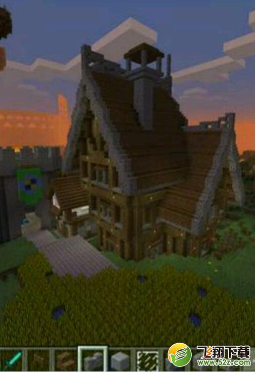 一个大触做的,像我这种小触在这哥们面前也要低头啊,这房子也是由火柴盒建成的。之后房子一层一层往上搭最后直至盖房顶。此外,建筑风格也是别出心裁,十分漂亮。 要记住,小房子是一个好房子的根源,掌握了房顶室内的布局,也就会掌握室外的布局。。。 室外建筑呢!可以在窗户外建一个花丛。或是在建筑旁边旁搓点骨粉。,门边造一个木栅栏与木板半砖楼梯什么的建的装饰性建筑物,玻璃要有,木头不能少了。因为用木头当框架制作看起来跟舒服美观。