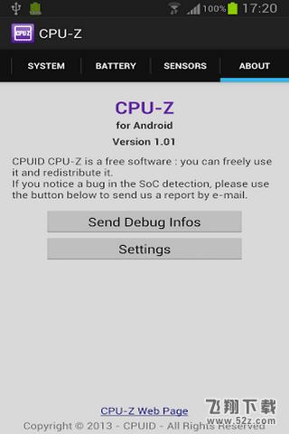 CPU-ZV1.23 安卓版_52z.com