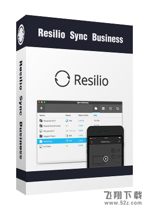 Resilio Sync Business Mac 基础版V2.5 基础版_52z.com