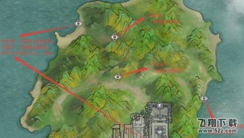 地理志的航海图鉴是,望东海在酒楼楼顶 (15569,58001) 平安塔(15320