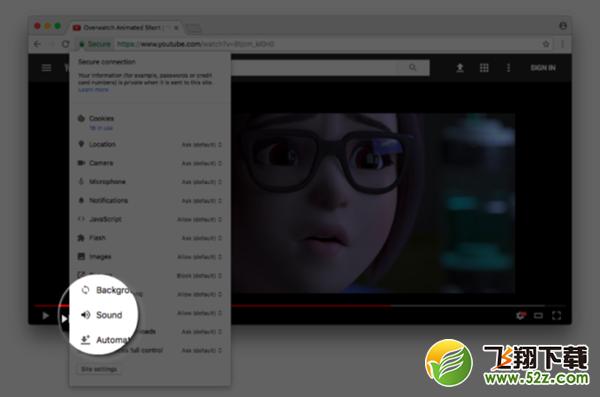 谷歌Chrome浏览器将推永久静音指定网站功能