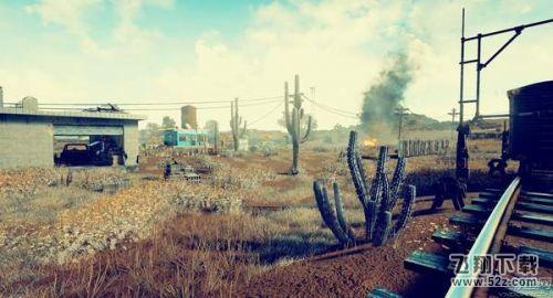 《绝地求生》沙漠地图小地图曝光 沙漠僵尸小城够刺激