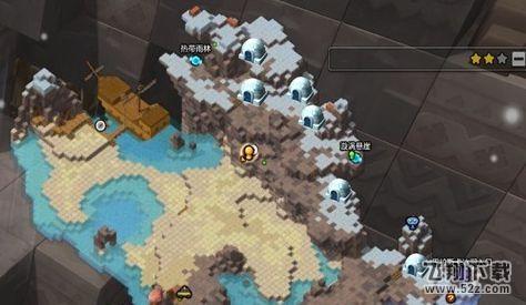 冒险岛2雪屋分布位置介绍