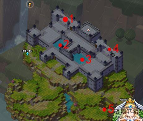 《冒险岛2》遗忘城堡黄金宝箱挖宝攻略