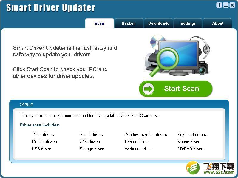 Smart Driver Updater官方最新版驱动检测工具