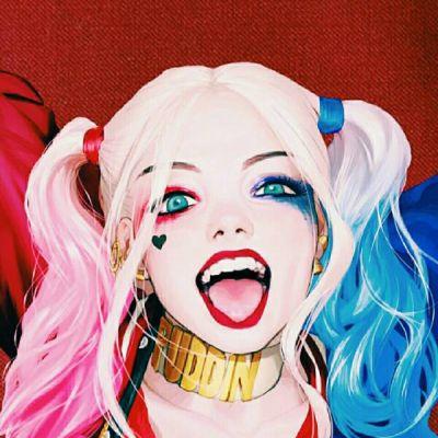 高清冷艳真人小丑头像女生 我在你心目中扮演的小丑吧