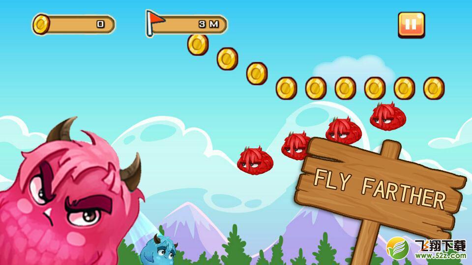 小怪物爱飞翔 V1.0 安卓版