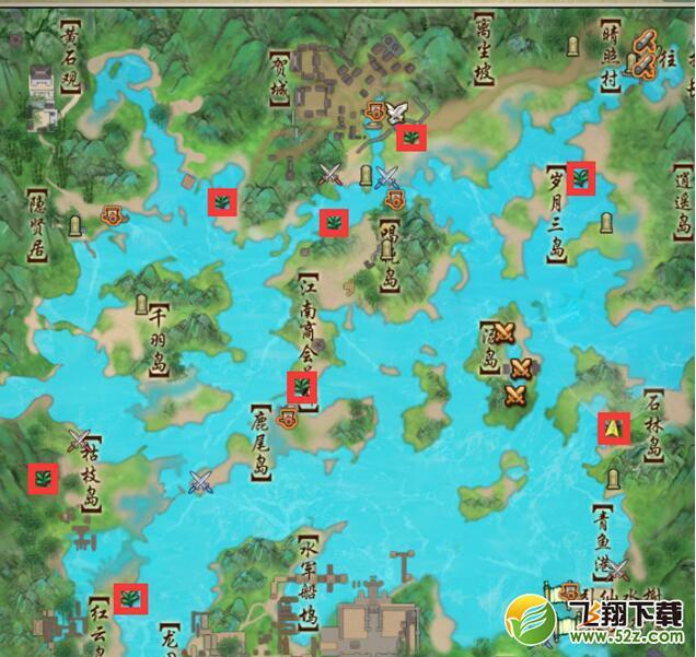 剑网3重制版三测千岛湖彩蛋位置一览
