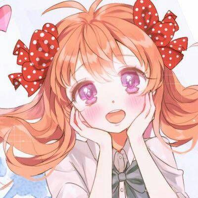 微信头像女生卡通可爱甜美2018最新 二次元头像卡通动漫女生呆萌推荐