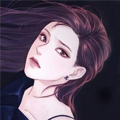 2018时尚唯美手绘情侣头像精选 小清新画风唯美手绘情侣头像