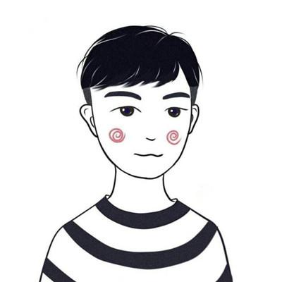2018可爱简笔画微信情侣头像精选图片