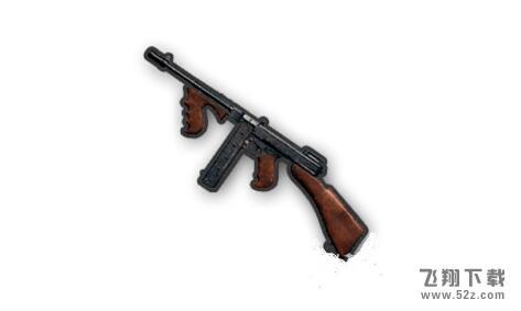 绝地求生汤姆逊冲锋枪属性介绍/配件搭配/伤害数据分析_绝地求生汤姆逊冲锋枪使用攻略