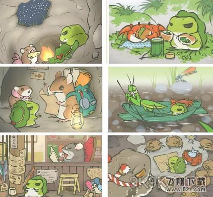 旅行青蛙如何让照片里有其他动物 旅行青蛙怎么结交到朋友合影