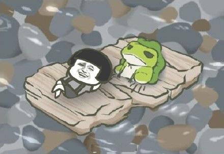 旅行背景蘑菇头表情有青蛙头旅行表情做透明怎么青蛙蘑菇包图片