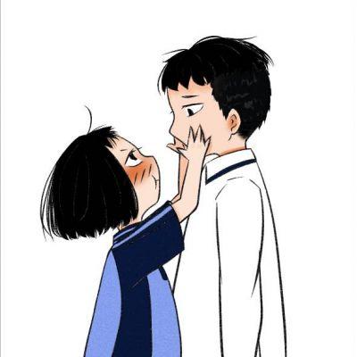 超萌可爱卡通情侣头像一人一张 动漫情侣头像一人一张可爱图片大全