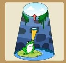 《疯狂猜成语》青蛙在井里是什么成语