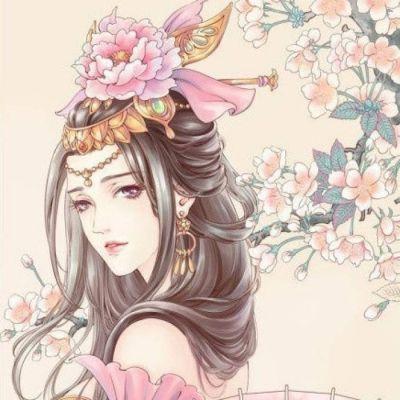 2018qq头像女生古风唯美动漫卡通头像 手绘气质淡雅古风美女头像大全