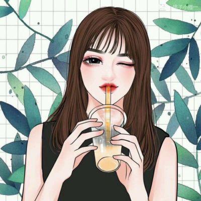 小清新情侣头像动漫卡通图片精选 动漫小清新简约可爱情侣头像大全