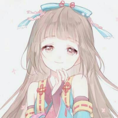 动漫头像女生可爱甜美高清图片 2018唯美小清新动漫女生卡通头像大全