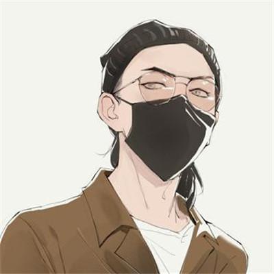 快手头像男生霸气戴口罩动漫 快手专用霸气拽拽男生戴口罩头像大全