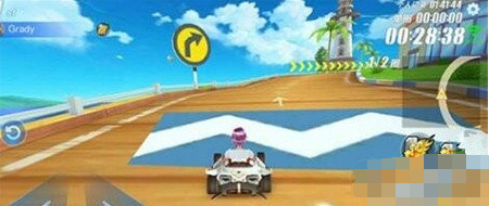 QQ飞车手游海滨沙滩怎么跑 海滨沙滩赛车技巧分享