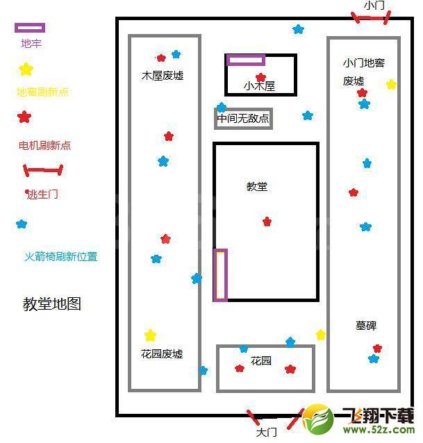 第五人格红教堂地图一览_第五人格红教堂分布图解析